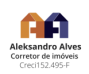 Aleksandro Alves da Silva - Corretor de imóveis